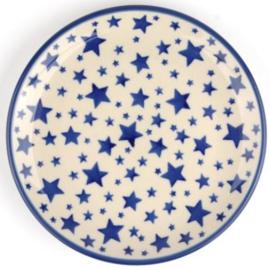 Bunzlau Cakedish 16 cm White Stars