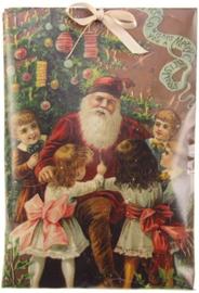 Meander Geurzakje Kinderen bij de Kerstman -kaneel-