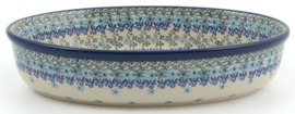 Bunzlau Oval Dish Oval 1550 ml Garland