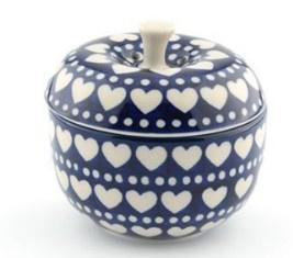 Bunzlau Apple Pot 300 ml Blue Valentine