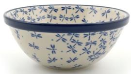 Bunzlau Bowl 17 cm Damselfly