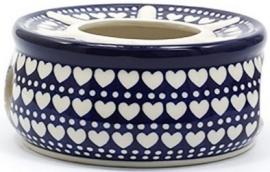 Bunzlau Teastove Blue Valentine