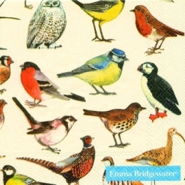 Emma Bridgewater British Birds Cocktail Napkins