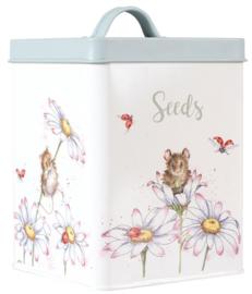 Wrendale Designs Seed Tin -green-