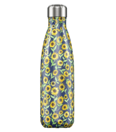 Chilly's Drink Bottle 750 ml Floral Sunflower -glad en glanzend-