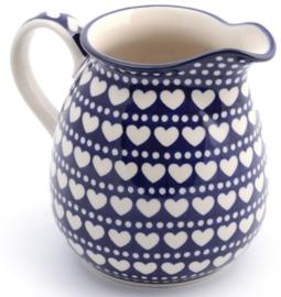 Bunzlau Jug 1500 ml Blue Valentine