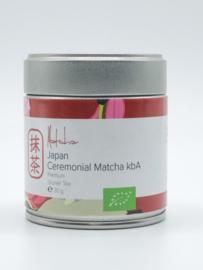 Dames van de Thee -Ceremonial Matcha Premium- blikje 30 gram -bio-