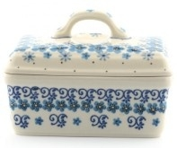 Bunzlau Butter Dish Autumn Breeze