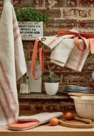 Ulster Weavers Tea Towel Linen 1880 Coral