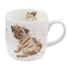 Wrendale Designs Pug Love Mug