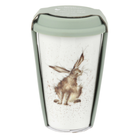 Wrendale Designs Travel Mug Hare