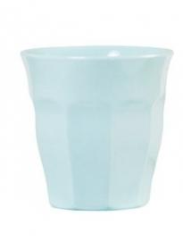 Rice Solid Colored Medium Melamine Cup in Dark Mint