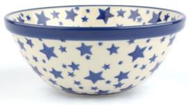 Bunzlau Bowl 14 cm White Stars