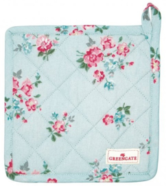 GreenGate Pot holder Sonia pale blue -set of 2-