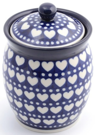 Bunzlau Jar 820 ml Blue Valentine