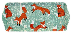 Ulster Weavers Small Tray Foraging Fox