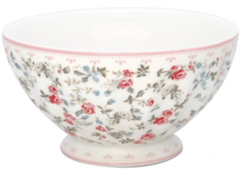 GreenGate French Bowl Extra Large Carly white -stoneware- *Liminted Edition*