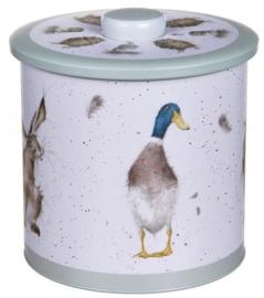 Wrendale Designs Biscuit Barrel -green-