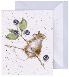 Wrendale Designs 'Brambles' miniature Card