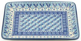 Bunzlau Tray 18 x 24 cm Nautique