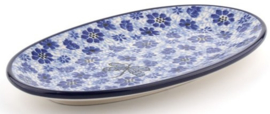 Bunzlau Oval Cookie Dish Dragonfly