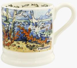 Emma Bridgewater River & Shore Salt Water 1/2 Pint Mug
