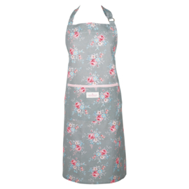 GreenGate Apron Marie Pale Grey