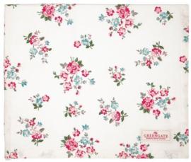 GreenGate Tablecloth Sonia white 150 x 150 cm