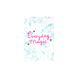 Rice Post Card Marble Print 'Everyday Magic'