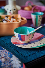 Rice Small Melamine Bowl - Louise's Stripe Print *vernieuwd model*