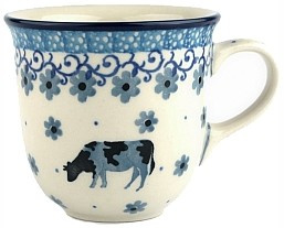 Bunzlau Tulip Mug 200 ml Cow -Limited Edition-