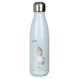 Wrendale Designs 'Guard Duck' Duck Water Bottle 500 ml