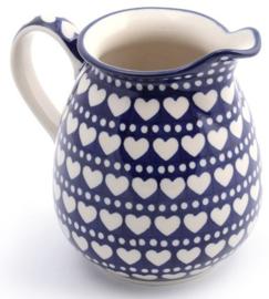 Bunzlau Jug 1030 ml Blue Valentine