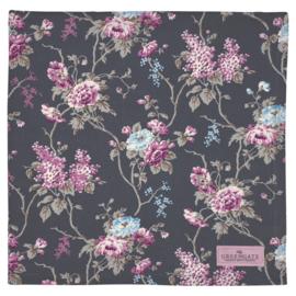 GreenGate Tablecloth Maude Dark Grey 145 x 250 cm