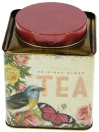 Meander Blik Tea Vogel Nostalgia