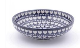 Bunzlau Serving Bowl 22,5 cm Blue Valentine