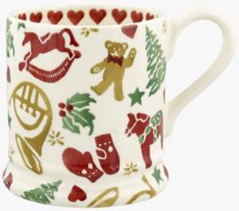 Emma Bridgewater Christmas Celebration 1/2 Pint Mug - 2021