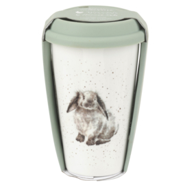 Wrendale Designs Travel Mug Rabbit