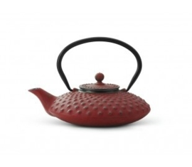 Bredemeijer Cast Iron Teapot Xilin 0,8 liter Red
