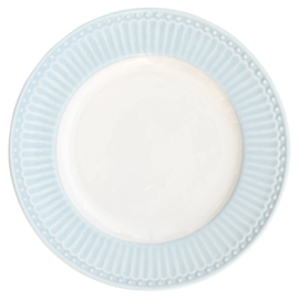 GreenGate Small Plate Alice pale blue -stoneware-