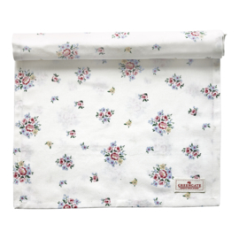 GreenGate Table Runner Nicoline white 45 x 140 cm