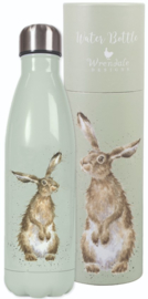Wrendale Designs 'Hare and the Bee' hare Water Bottle 500 ml - b-keuze