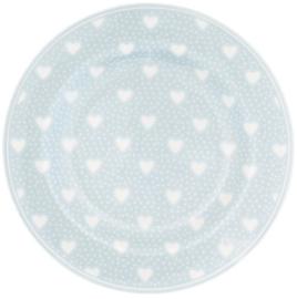 GreenGate Small Plate Penny pale blue -stoneware-