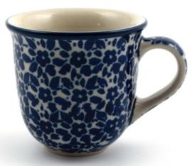 Bunzlau Tulip Mug Espresso 70 ml Indigo