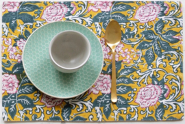 Rozablue Placemat Chintz golden