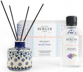 Bunzlau Castle & Maison Berger Perfume Diffuser Set Lavender Fields - Belle Fleur