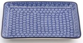 Bunzlau Tray Large 27,5 x 21,5 cm Lace