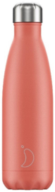 Chilly's Drink Bottle 500 ml Pastel Coral