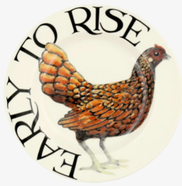 Emma Bridgewater Rise & Shine Early to Rise 6,5 inch Plate
