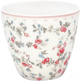 GreenGate Latte Cup Carly white -stoneware- *Limited Edition*